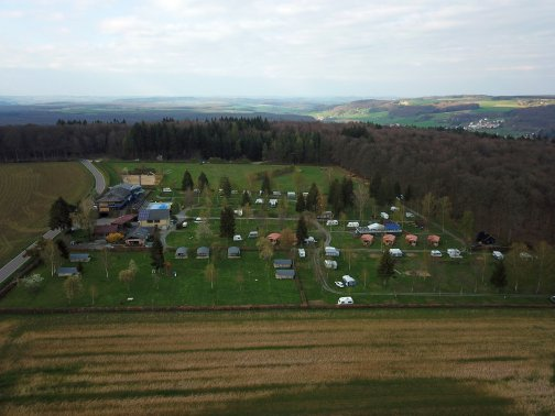 Air View Camping Auf Kengert 2019